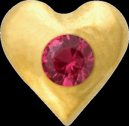 GoldStar, Herz mit Rubin