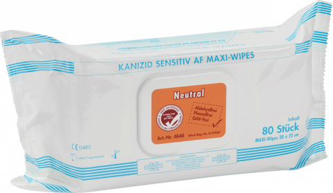 Kanizid Sensitiv AF Maxi-Wipes NEUTRAL
