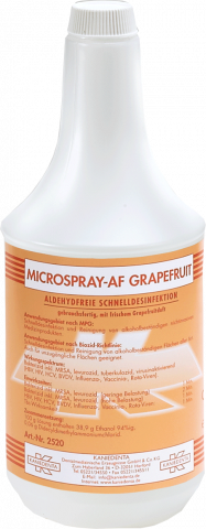 Microspray-AF 1 Liter LEERFLASCHE